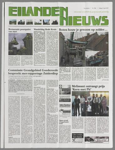 Eilanden-nieuws. Christelijk streekblad op gereformeerde grondslag 2007-04-13