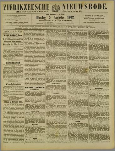 Zierikzeesche Nieuwsbode 1902-08-05