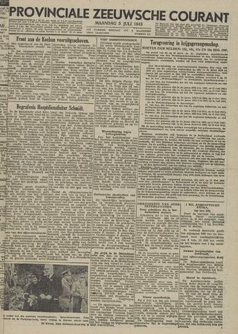 Provinciale Zeeuwse Courant 1943-07-05