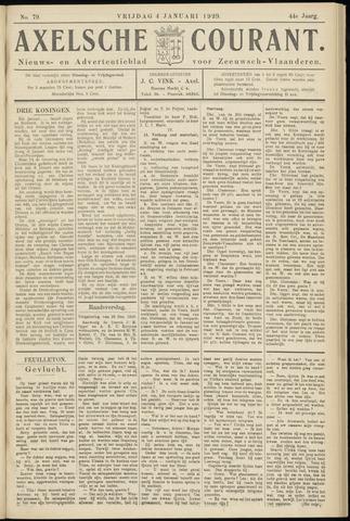 Axelsche Courant 1929-01-04