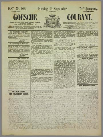 Goessche Courant 1887-09-13