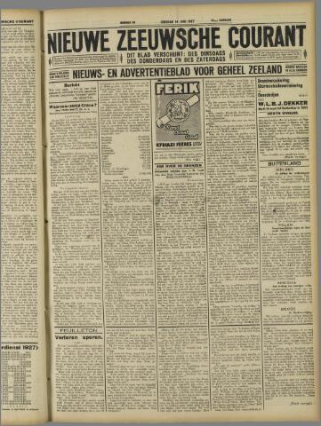 Nieuwe Zeeuwsche Courant 1927-06-14