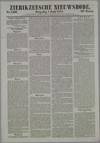 Zierikzeesche Nieuwsbode 1874-07-07