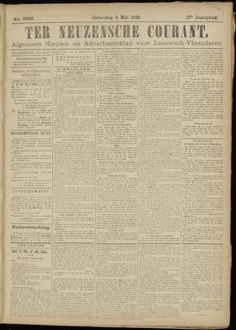 Ter Neuzensche Courant. Algemeen Nieuws- en Advertentieblad voor Zeeuwsch-Vlaanderen / Neuzensche Courant ... (idem) / (Algemeen) nieuws en advertentieblad voor Zeeuwsch-Vlaanderen 1918-05-04