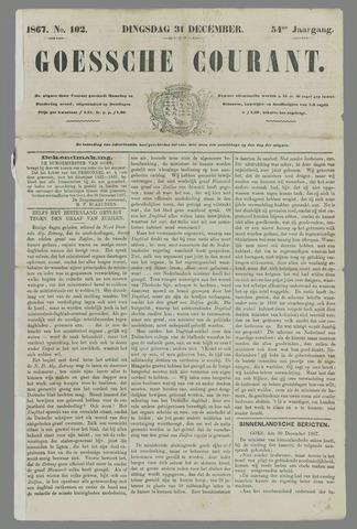 Goessche Courant 1867-12-31