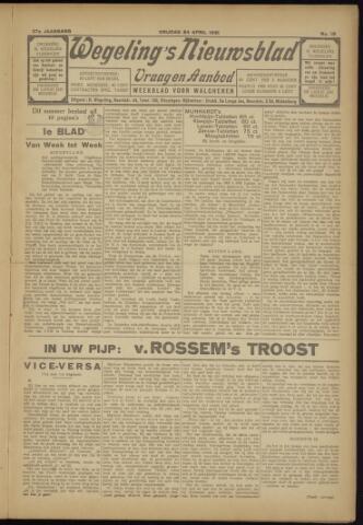 Zeeuwsch Nieuwsblad/Wegeling's Nieuwsblad 1931-04-24