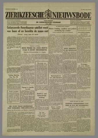 Zierikzeesche Nieuwsbode 1958-10-13