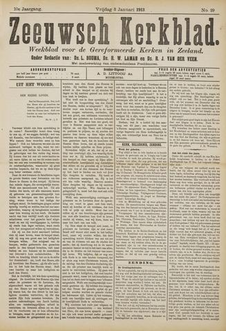 Zeeuwsche kerkbode, weekblad gewijd aan de belangen der gereformeerde kerken/ Zeeuwsch kerkblad 1913