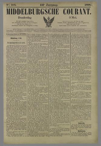 Middelburgsche Courant 1888-05-03