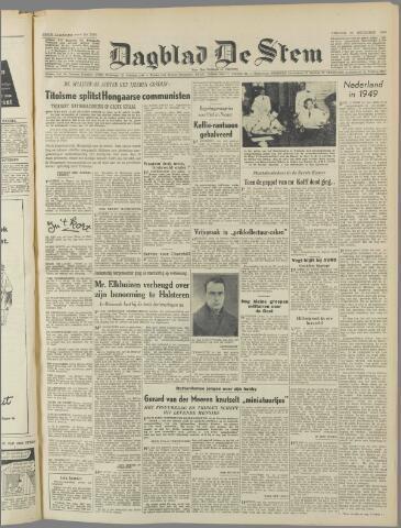 de Stem 1949-12-30