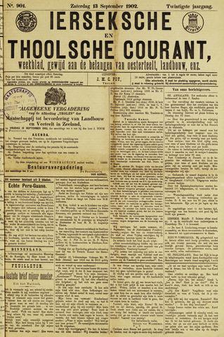 Ierseksche en Thoolsche Courant 1902-09-13