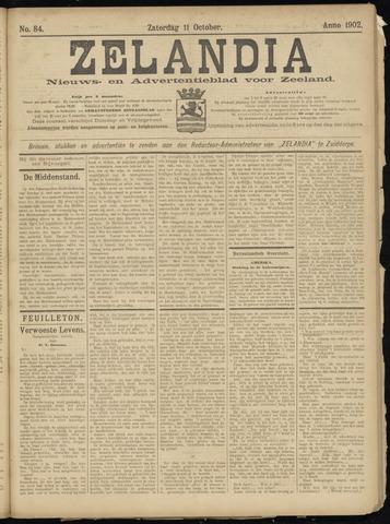 Zelandia. Nieuws-en advertentieblad voor Zeeland | edities: Het Land van Hulst en De Vier Ambachten 1902-10-11