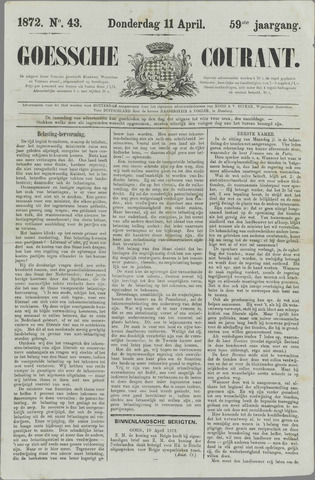 Goessche Courant 1872-04-11