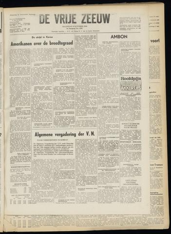 de Vrije Zeeuw 1950-10-09