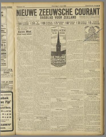 Nieuwe Zeeuwsche Courant 1921-06-11