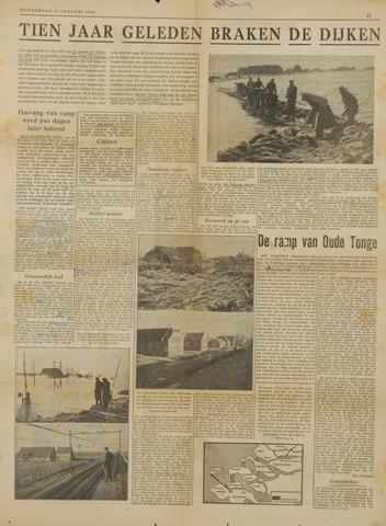Watersnood documentatie 1953 - krantenknipsels 1963
