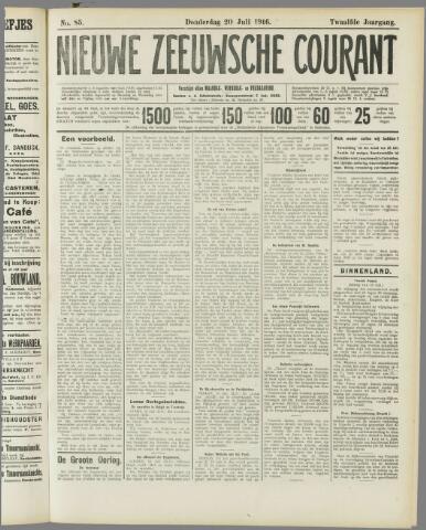 Nieuwe Zeeuwsche Courant 1916-07-20