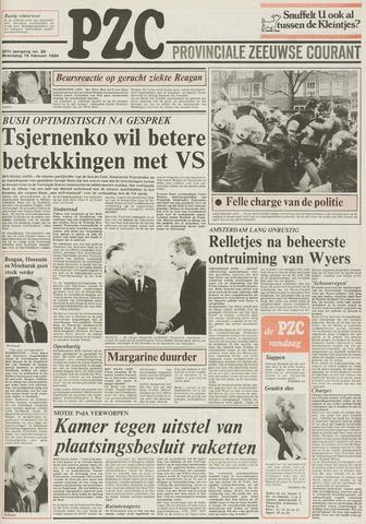 Provinciale Zeeuwse Courant 1984-02-15