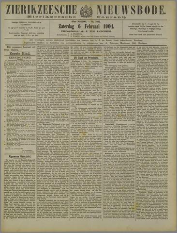 Zierikzeesche Nieuwsbode 1904-02-06