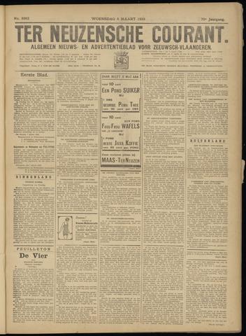 Ter Neuzensche Courant. Algemeen Nieuws- en Advertentieblad voor Zeeuwsch-Vlaanderen / Neuzensche Courant ... (idem) / (Algemeen) nieuws en advertentieblad voor Zeeuwsch-Vlaanderen 1933-03-08
