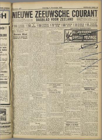 Nieuwe Zeeuwsche Courant 1922-11-04