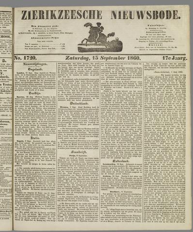 Zierikzeesche Nieuwsbode 1860-09-15