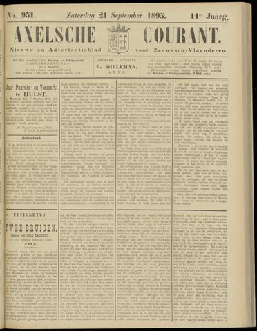 Axelsche Courant 1895-09-21