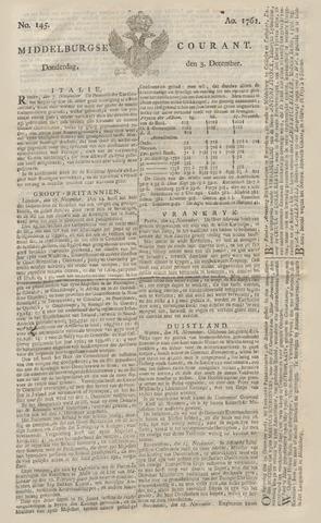 Middelburgsche Courant 1761-12-03