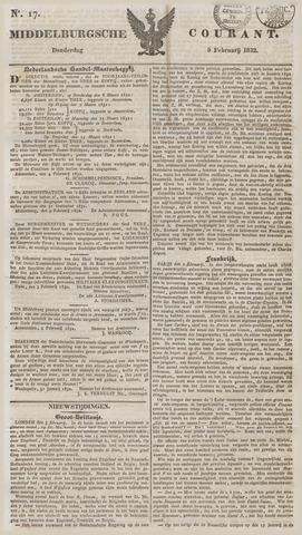 Middelburgsche Courant 1832-02-09