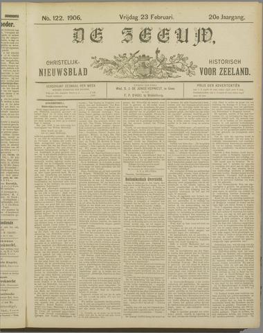 De Zeeuw. Christelijk-historisch nieuwsblad voor Zeeland 1906-02-23