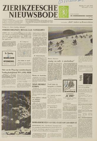 Zierikzeesche Nieuwsbode 1973-04-17
