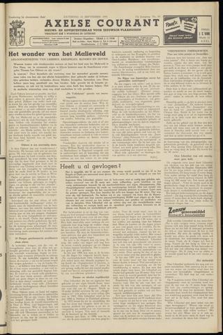 Axelsche Courant 1958-09-13
