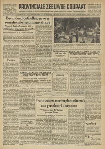 Provinciale Zeeuwse Courant 1950-10-19