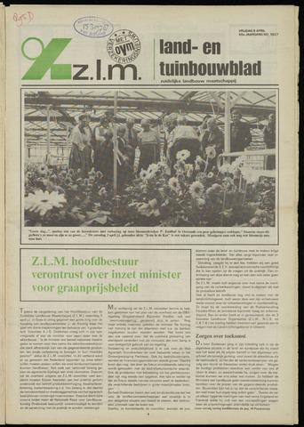 Zeeuwsch landbouwblad ... ZLM land- en tuinbouwblad 1982-04-09