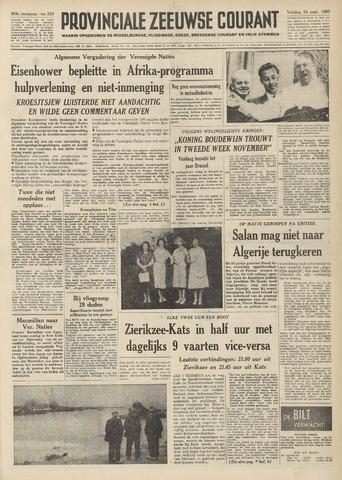 Provinciale Zeeuwse Courant 1960-09-23
