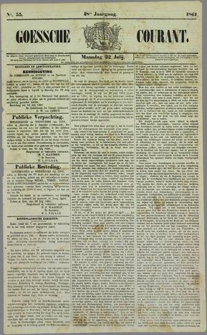 Goessche Courant 1861-07-22