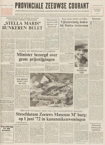 Provinciale Zeeuwse Courant 1971-07-22