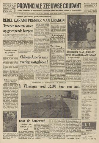 Provinciale Zeeuwse Courant 1958-09-25