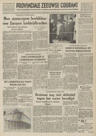 Provinciale Zeeuwse Courant 1953-12-14