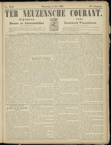 Ter Neuzensche Courant. Algemeen Nieuws- en Advertentieblad voor Zeeuwsch-Vlaanderen / Neuzensche Courant ... (idem) / (Algemeen) nieuws en advertentieblad voor Zeeuwsch-Vlaanderen 1887-07-06