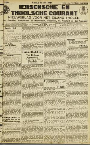 Ierseksche en Thoolsche Courant 1927-05-27