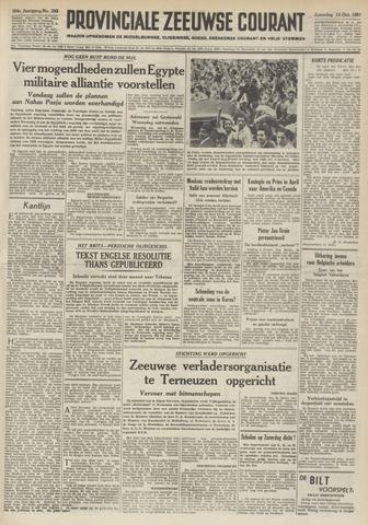 Provinciale Zeeuwse Courant 1951-10-13