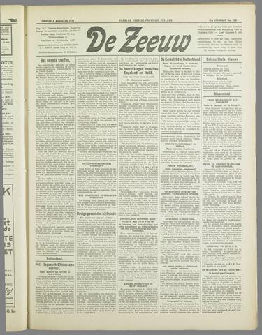 De Zeeuw. Christelijk-historisch nieuwsblad voor Zeeland 1937-08-03