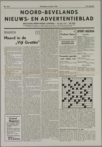 Noord-Bevelands Nieuws- en advertentieblad 1984-01-12
