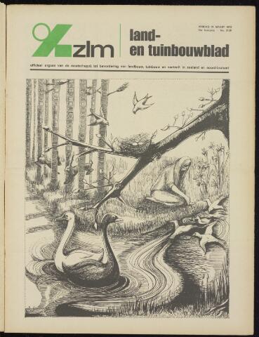 Zeeuwsch landbouwblad ... ZLM land- en tuinbouwblad 1972-03-31