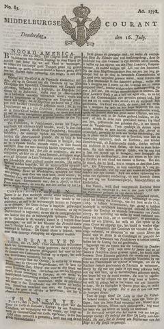 Middelburgsche Courant 1778-07-16