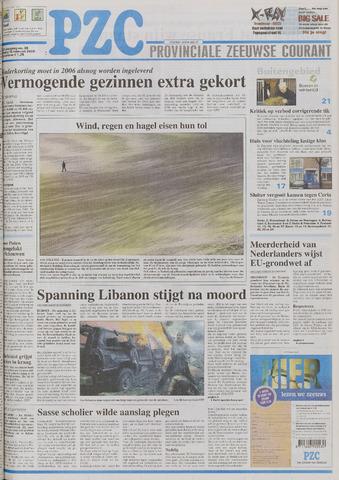 Provinciale Zeeuwse Courant 2005-02-15