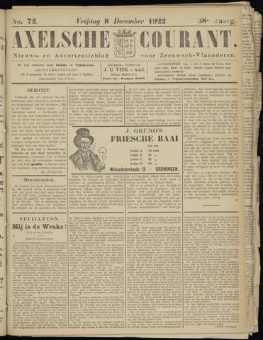 Axelsche Courant 1922-12-08