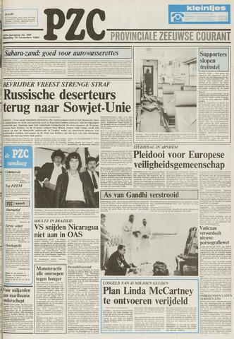 Provinciale Zeeuwse Courant 1984-11-12