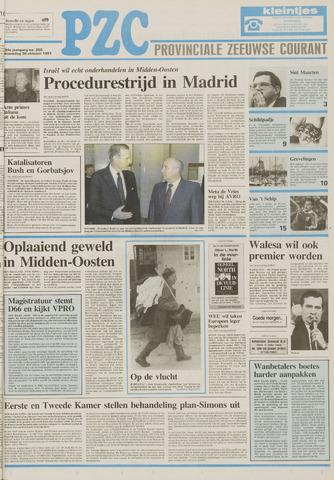 Provinciale Zeeuwse Courant 1991-10-30